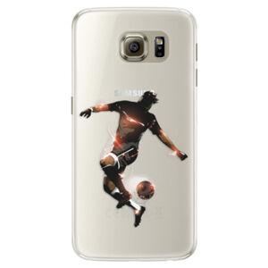 Silikónové puzdro iSaprio - Fotball 01 - Samsung Galaxy S6 Edge
