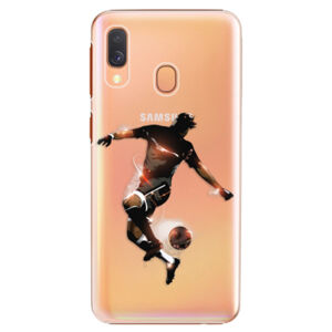 Plastové puzdro iSaprio - Fotball 01 - Samsung Galaxy A40