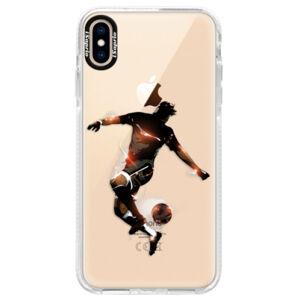 Silikónové púzdro Bumper iSaprio - Fotball 01 - iPhone XS Max