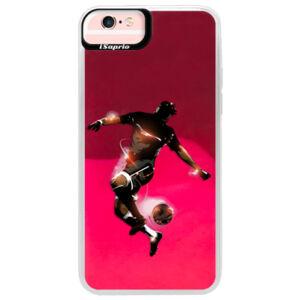 Neónové púzdro Pink iSaprio - Fotball 01 - iPhone 6 Plus/6S Plus