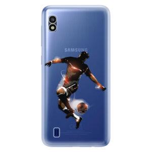 Odolné silikónové puzdro iSaprio - Fotball 01 - Samsung Galaxy A10