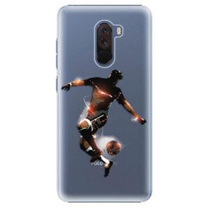 Plastové puzdro iSaprio - Fotball 01 - Xiaomi Pocophone F1