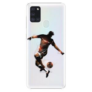 Plastové puzdro iSaprio - Fotball 01 - Samsung Galaxy A21s
