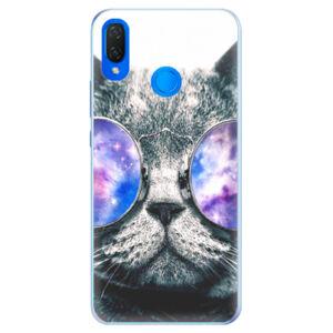 Silikónové puzdro iSaprio - Galaxy Cat - Huawei Nova 3i