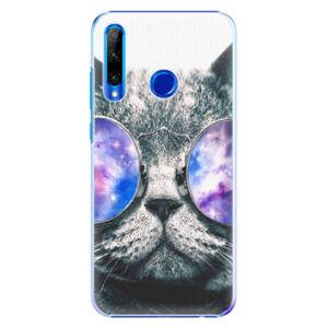 Plastové puzdro iSaprio - Galaxy Cat - Huawei Honor 20 Lite