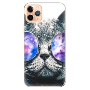 Odolné silikónové puzdro iSaprio - Galaxy Cat - iPhone 11 Pro Max