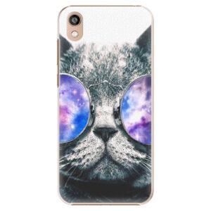 Plastové puzdro iSaprio - Galaxy Cat - Huawei Honor 8S