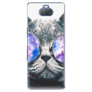 Plastové puzdro iSaprio - Galaxy Cat - Sony Xperia 10