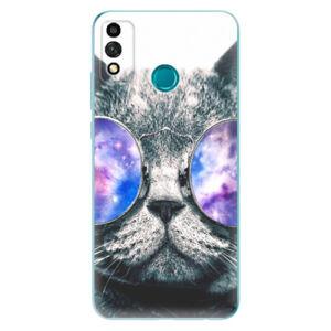 Odolné silikónové puzdro iSaprio - Galaxy Cat - Honor 9X Lite