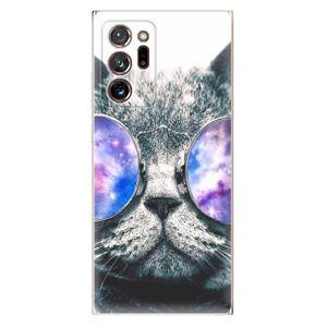 Odolné silikónové puzdro iSaprio - Galaxy Cat - Samsung Galaxy Note 20 Ultra
