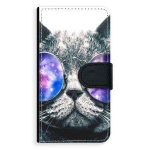 Univerzálne flipové puzdro iSaprio - Galaxy Cat - Flip XL