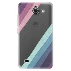 Plastové puzdro iSaprio - Glitter Stripes 01 - Huawei Ascend Y550