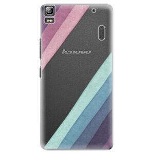 Plastové puzdro iSaprio - Glitter Stripes 01 - Lenovo A7000