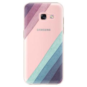 Plastové puzdro iSaprio - Glitter Stripes 01 - Samsung Galaxy A3 2017