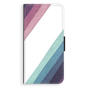Flipové puzdro iSaprio - Glitter Stripes 01 - Huawei Honor 10