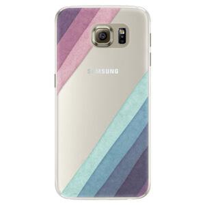 Silikónové puzdro iSaprio - Glitter Stripes 01 - Samsung Galaxy S6