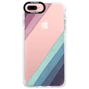 Silikónové púzdro Bumper iSaprio - Glitter Stripes 01 - iPhone 7 Plus
