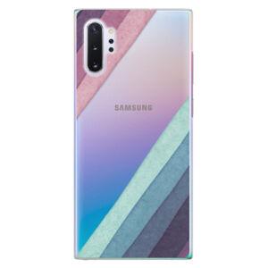 Plastové puzdro iSaprio - Glitter Stripes 01 - Samsung Galaxy Note 10+