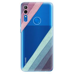 Odolné silikónové puzdro iSaprio - Glitter Stripes 01 - Huawei P Smart Z