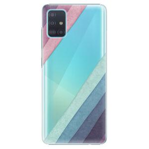 Plastové puzdro iSaprio - Glitter Stripes 01 - Samsung Galaxy A51