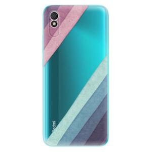 Odolné silikónové puzdro iSaprio - Glitter Stripes 01 - Xiaomi Redmi 9A