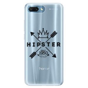 Silikónové puzdro iSaprio - Hipster Style 02 - Huawei Honor 10