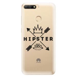 Odolné silikónové puzdro iSaprio - Hipster Style 02 - Huawei Y6 Prime 2018