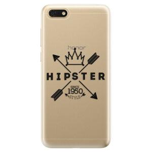 Odolné silikónové puzdro iSaprio - Hipster Style 02 - Huawei Honor 7S