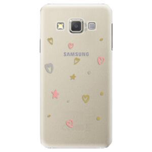 Plastové puzdro iSaprio - Lovely Pattern - Samsung Galaxy A7
