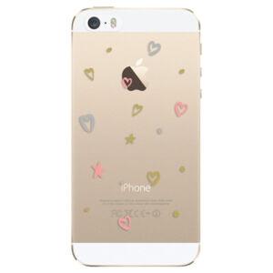 Odolné silikónové puzdro iSaprio - Lovely Pattern - iPhone 5/5S/SE