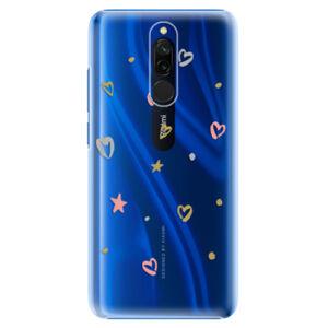 Plastové puzdro iSaprio - Lovely Pattern - Xiaomi Redmi 8