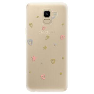 Odolné silikónové puzdro iSaprio - Lovely Pattern - Samsung Galaxy J6