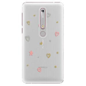 Plastové puzdro iSaprio - Lovely Pattern - Nokia 6.1