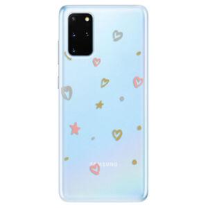 Odolné silikónové puzdro iSaprio - Lovely Pattern - Samsung Galaxy S20+