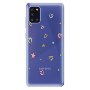 Odolné silikónové puzdro iSaprio - Lovely Pattern - Samsung Galaxy A31