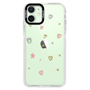 Silikónové puzdro Bumper iSaprio - Lovely Pattern - iPhone 12