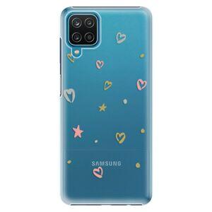 Plastové puzdro iSaprio - Lovely Pattern - Samsung Galaxy A12