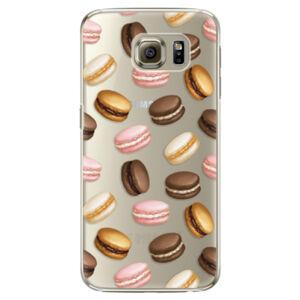 Plastové puzdro iSaprio - Macaron Pattern - Samsung Galaxy S6