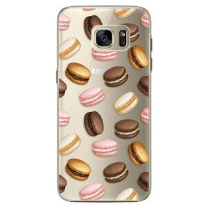 Plastové puzdro iSaprio - Macaron Pattern - Samsung Galaxy S7