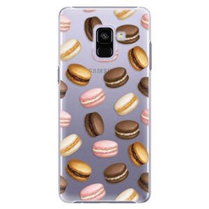 Plastové puzdro iSaprio - Macaron Pattern - Samsung Galaxy A8+