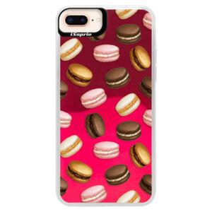 Neónové púzdro Pink iSaprio - Macaron Pattern - iPhone 8 Plus