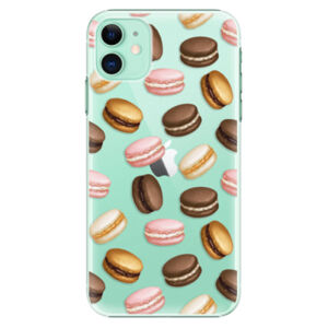 Plastové puzdro iSaprio - Macaron Pattern - iPhone 11