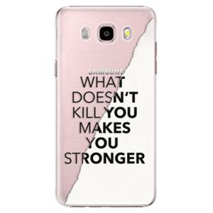 Plastové puzdro iSaprio - Makes You Stronger - Samsung Galaxy J5 2016