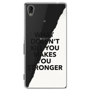 Plastové puzdro iSaprio - Makes You Stronger - Sony Xperia M4