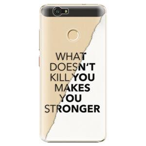 Plastové puzdro iSaprio - Makes You Stronger - Huawei Nova
