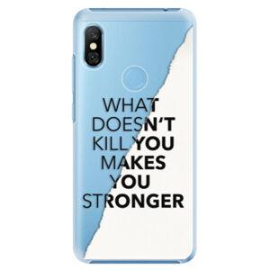 Plastové puzdro iSaprio - Makes You Stronger - Xiaomi Redmi Note 6 Pro