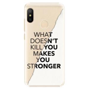 Plastové puzdro iSaprio - Makes You Stronger - Xiaomi Mi A2 Lite