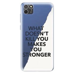 Odolné silikónové puzdro iSaprio - Makes You Stronger - Honor 9S