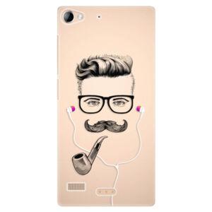 Plastové puzdro iSaprio - Man With Headphones 01 - Lenovo Vibe X2