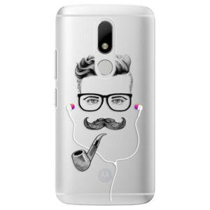Plastové puzdro iSaprio - Man With Headphones 01 - Lenovo Moto M